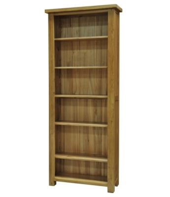 Salinas 6ft Oak Bookcase