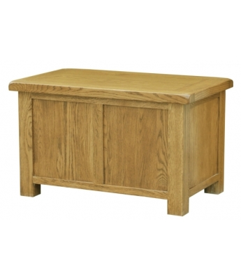 Salinas Oak Blanket Box