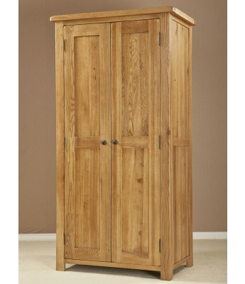 Salinas Oak All Hanging Wardrobe