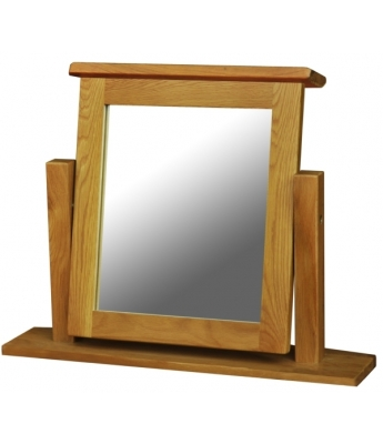 Salinas Dressing Table Oak Mirror