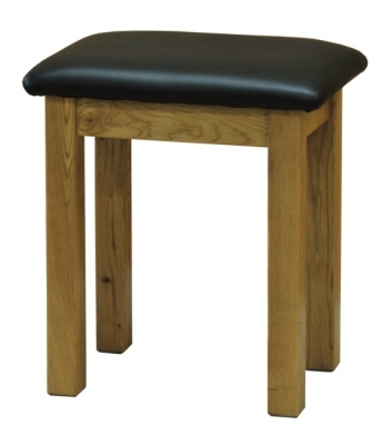 Salinas Oak Dressing Table Stool