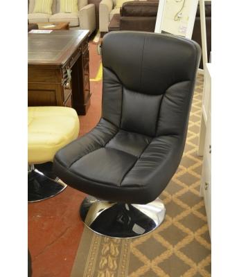 Pocco Black Swivel Chair