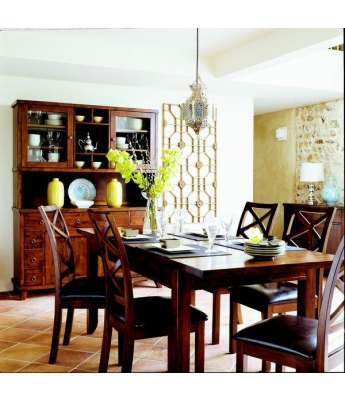Java Extending Dining Table - Clearance