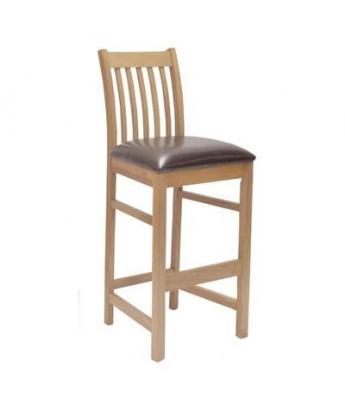 Hobart Leather Seat Barstool