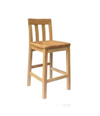 Jacob Timber Seat Barstool