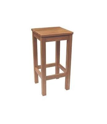 Leo Timber Seat Barstool