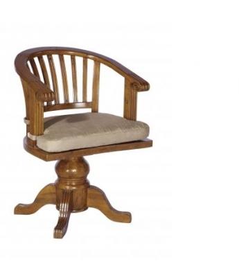 Irish Coast Rotating Office Chair (African Dusk Finish)