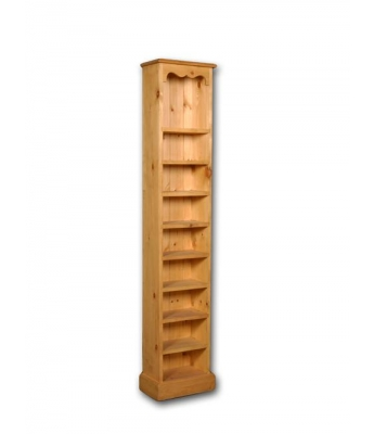 Meadow Pine 6x1 CD Bookcase