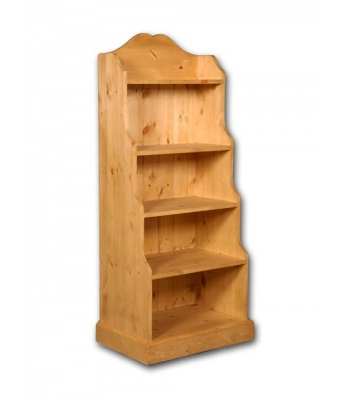 Meadow Pine Large Waterfall Bookcase