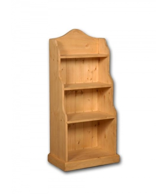 Meadow Pine Small Waterfall Bookcase