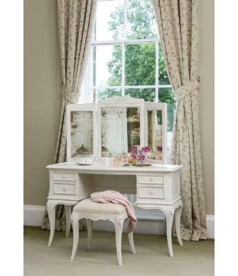 Montpellier Dressing Table with Triple Mirror