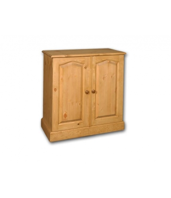 Meadow Pine Small Computer Cupboard