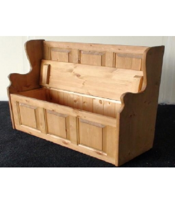 Meadow Pine 4ft Monks Bench