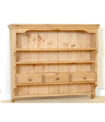 Meadow Pine Large 3-Drawer Spice Rack