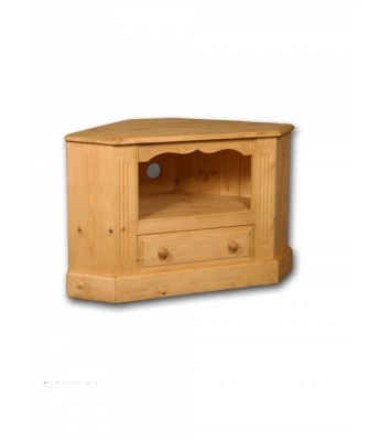 Meadow Pine Open Corner TV Unit