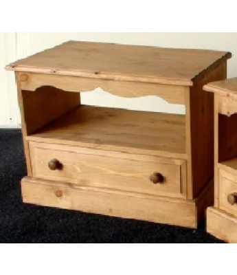 Meadow Pine Large Open TV Unit
