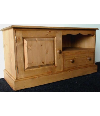 Meadow Pine 2 Door 1 Drawer TV Unit