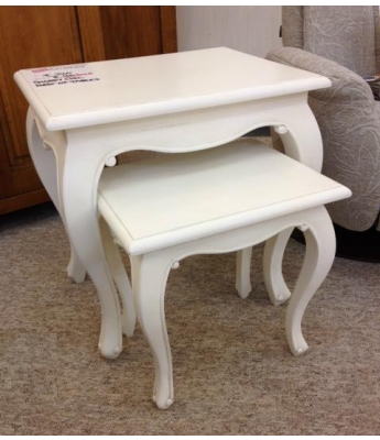 Shabby Chic Nest of Tables - Clearance