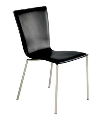 Coco Chair in Black Leather