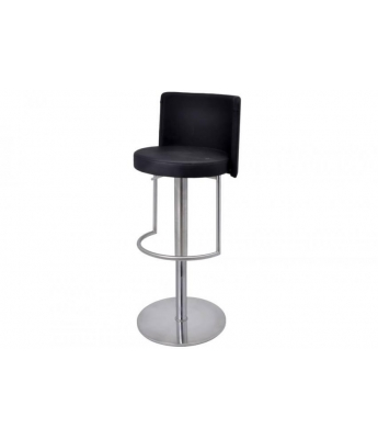 Monza Gas Stool (Brushed Steel Finish)