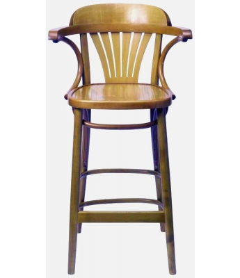 St. Louis Stool (Oak Finish)