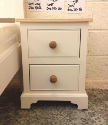 Fortune Woods Coast Small 2 Drawer Bedside