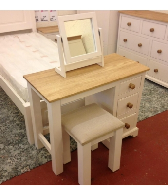 Fortune Woods Coast Single Pedestal Dressing Table