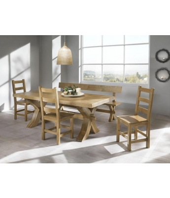 Conarte Cevennes X-Leg Dining Table