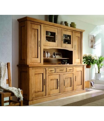 Conarte Camargue Plate Cabinet (4 Doors, 3 Drawers)