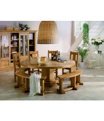 Conarte Camargue Round Dining Table (200cm)