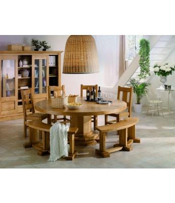 Conarte Camargue Round Dining Table (160cm)