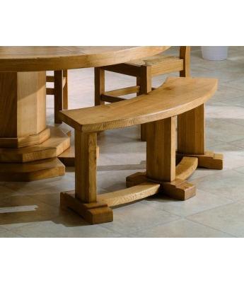 Conarte Camargue Bench for Round Table