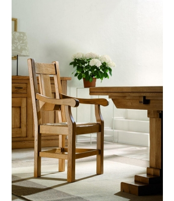 Conarte Camargue Armchair with Wood Seat