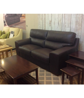 New Trend Concepts Cannes 3 Seater Leather Sofa