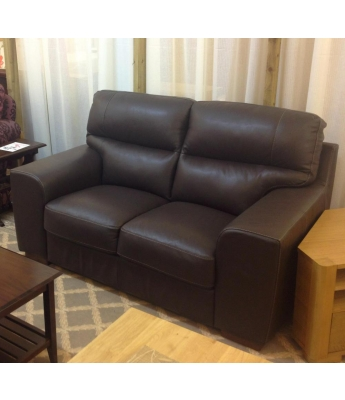 New Trend Concepts Cannes 2 Seater Leather Sofa
