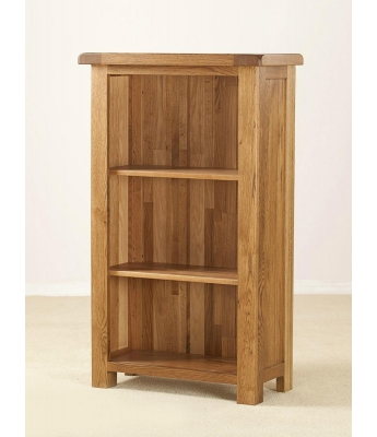 Montana Narrow Oak Bookcase