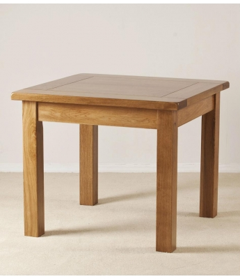 Rustic 3ft x 3ft Fixed Top Table
