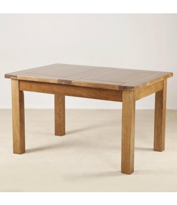 Montana 4ft 6in Extending Oak Table
