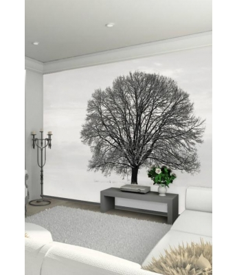 Tree Silhouette Wall Mural