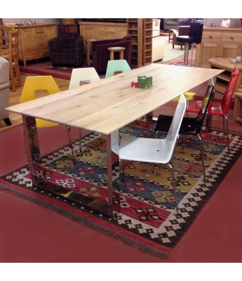 Conarte Vivido U-Leg Table (Light Top)