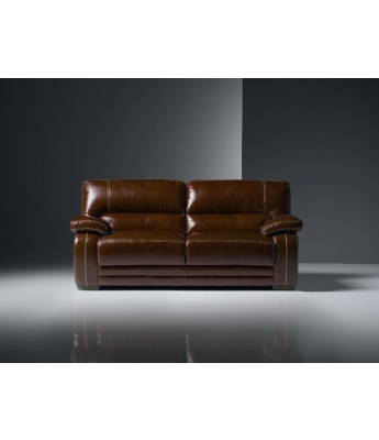 New Trend Concepts Antares 2 Seater Leather Sofa