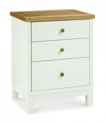 New York 3 Drawer Nightstand