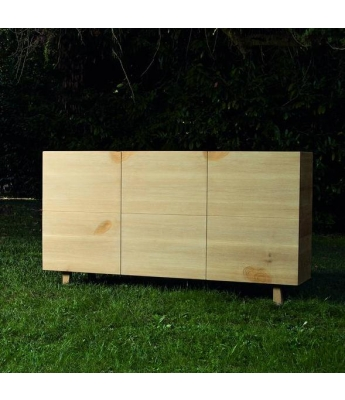 Conarte Essenza 3 Door High Sideboard (Yavel Range)