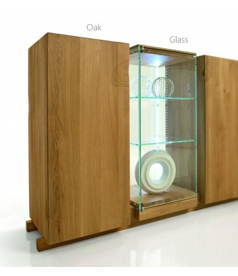 Conarte Essenza Tall Display and Storage Unit (Khufu Range)