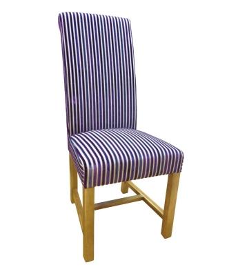 Putney Jupiter Aubergine Dining Chair
