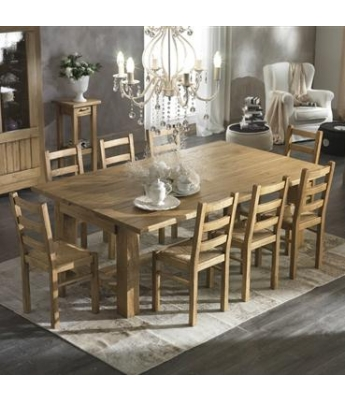 Conarte Canyon Extending Oak Dining Table