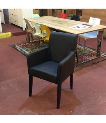 Dino Italian Leather Armchair
