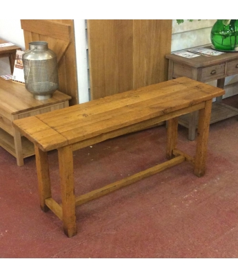 Antix Oak Console Table