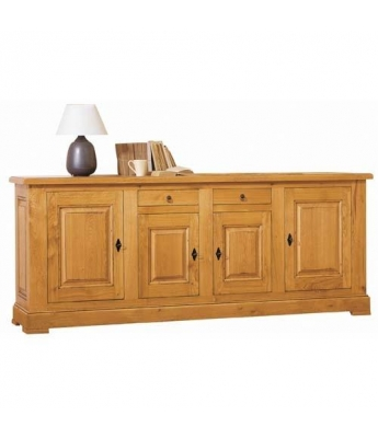 Carennac 4 Door Oak Sideboard