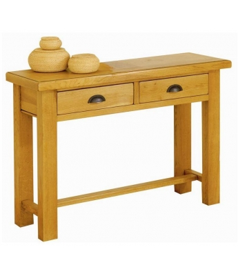 Carennac Oak Console Table